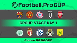 eFootball.Pro Cup Group Stage Day 1
