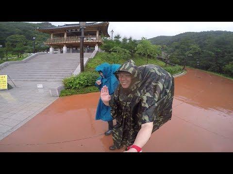 백패킹 경기도 가평 호명산 잣나무 숲 비박 우중캠핑 Homyeong Mountain Backpacking, Vivac, Corea [얼간이백패킹]