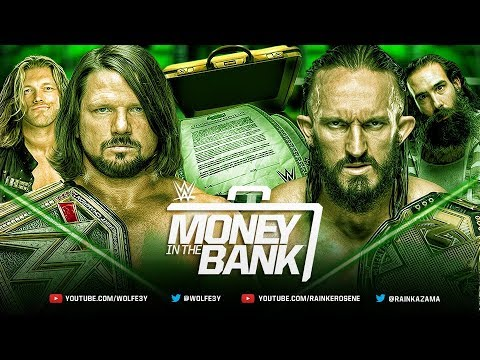 WWE 2K18 Co op Universe Mode - Money In The Bank 2018 (Full PPV)