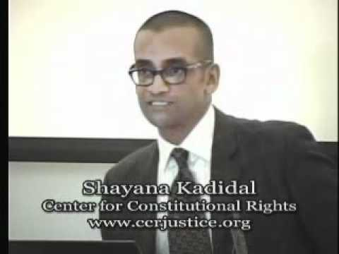Talk - Shayana Kadidal - Holder v. Humanitarian Law ...