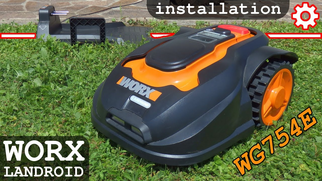 Worx Landroid M Wg754e Part 1 Unboxing And Overview Youtube