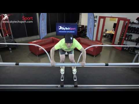 2.2 - 2.3 PSIA SkyTechSport Ski Simulator Instructor Guide. Fore-aft movements. Directing pressure.