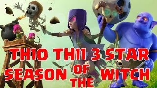 Mass bowler witch strategy | 3 star attack for TH10 TH11 | Clash of Clans