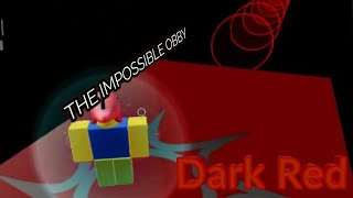 THE IMPOSSIBLE OBBY - Dark Red (Roblox)
