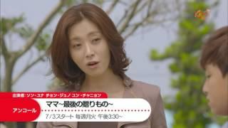 KNTV 7月アンコール放送ドラマ.