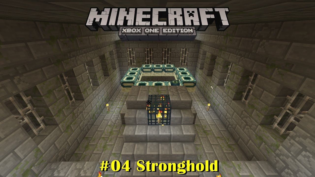 how to find a stronghold in minecraft xbox one