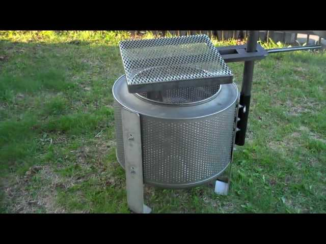 WASHER DRUM FIRE PIT - HigleyMetals.com Travel Video