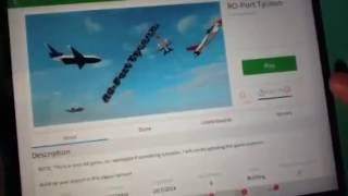 Roblox /// THAT GUY HAS AN AIRPLANE !!!!!!!!!!!