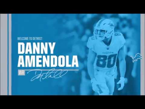 Danny Amendola Highlights (Welcome To Detroit!)