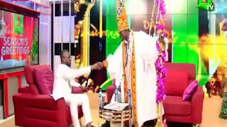 Kojo Nkansah LilWin entrance on UTV Day With The Stars