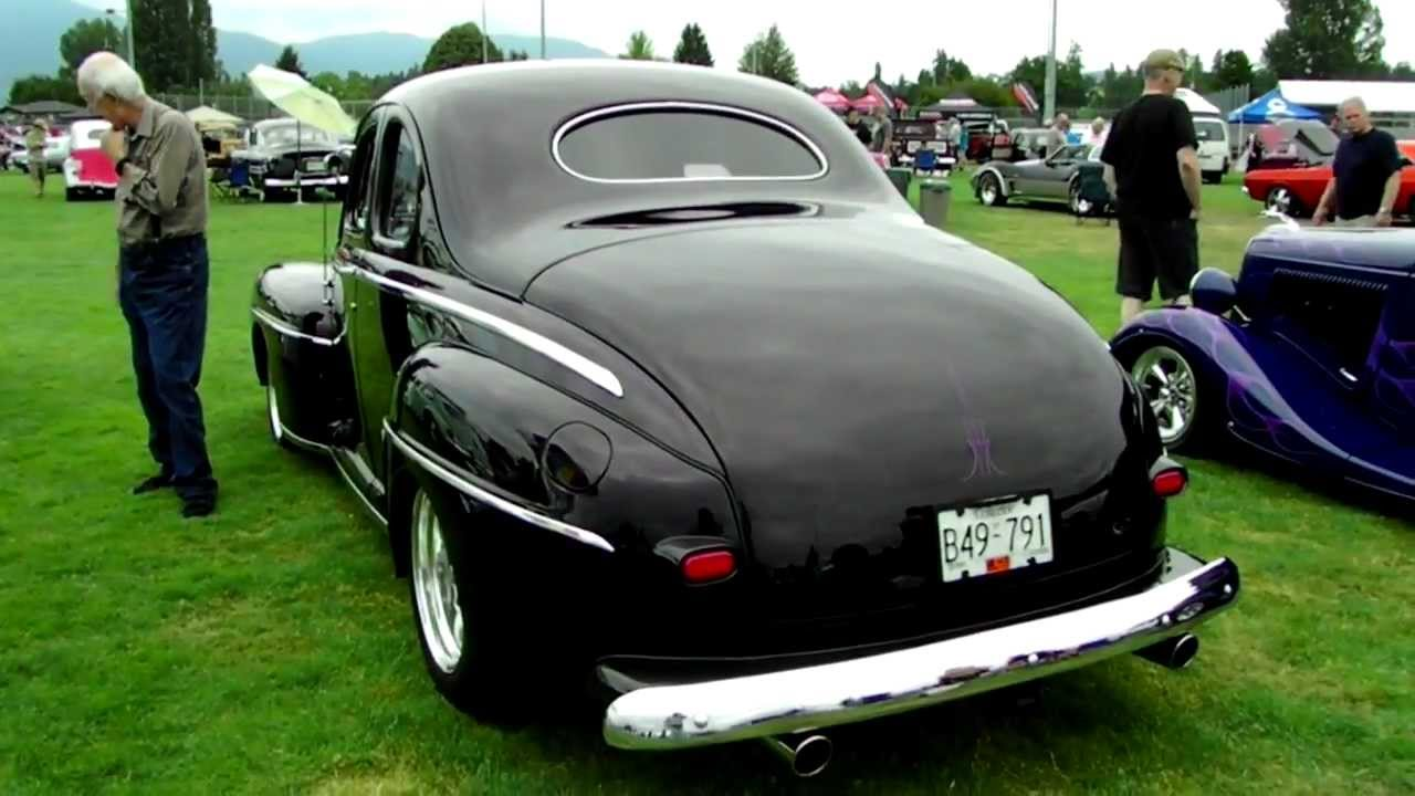 1948 Ford Coupe Beverly Corners Show Shine 2012 Youtube