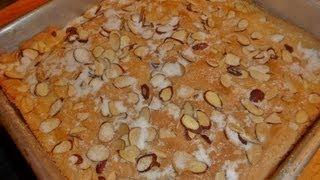 Almond Bars Recipe- Become Your Own Favorite Chef With Amy Westerman