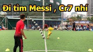Thử Thách Bóng Đá DKP đi tìm các Messi , Ronaldo nhí 2019 với cựu đội trưởng ĐT Việt Nam Như Thành
