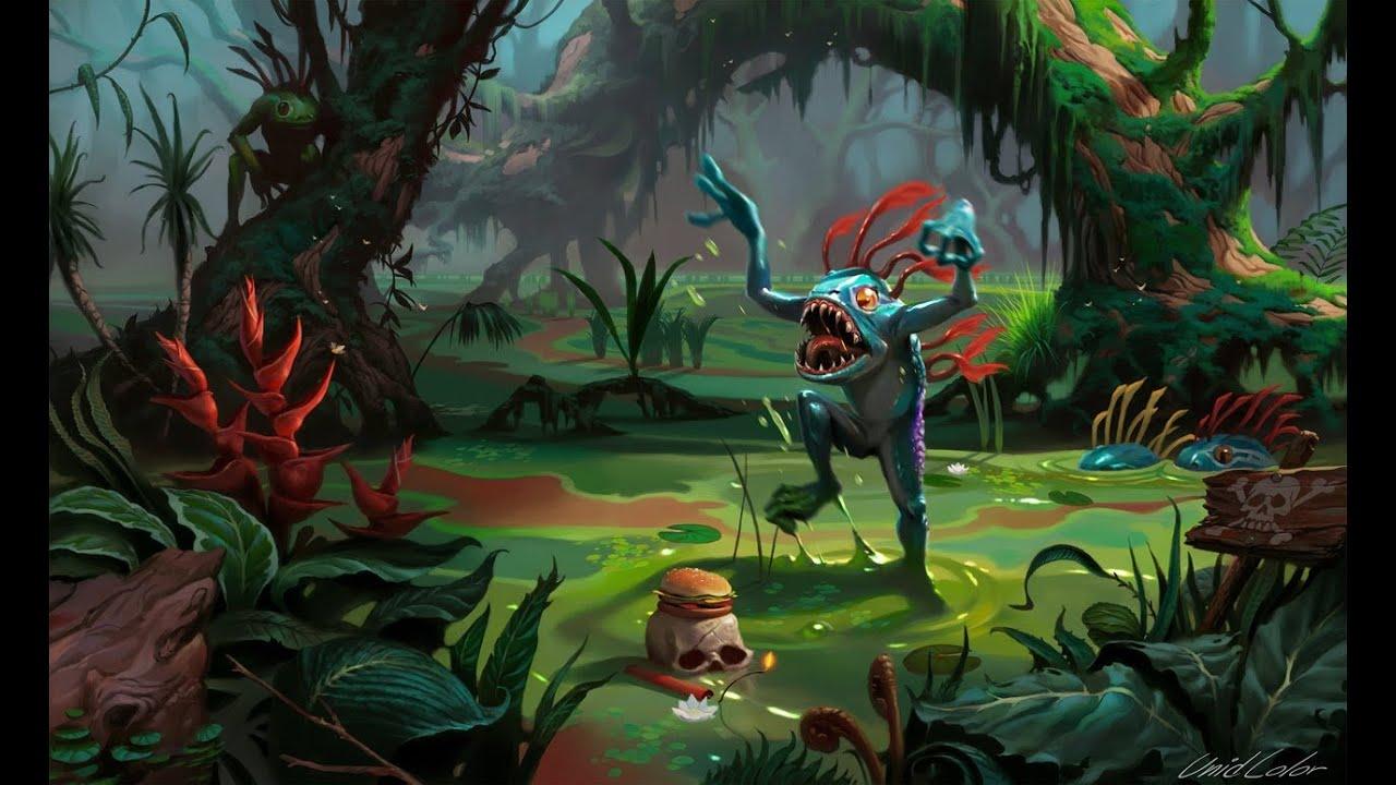 Jungle Wallpaper World Of Warcraft: Hearthstone [Maestro ★ ★ ★] Murloc Paladin EP 9
