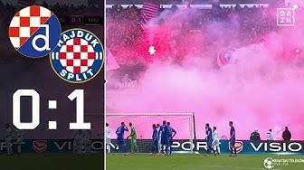 Kontroverse Szenen im Topspiel: Dinamo Zagreb - Hajduk Split 0:1   Highlights   1. HNL   DAZN