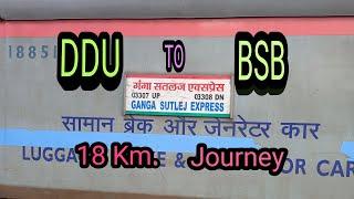 Early Morning Train Departure From Deen Dayal Upadhyaya To Varanasi Junction || 03307 DHN FZR SPL