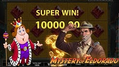 BIG WIN 🤠 Mystery of Eldorado⛰POKIES Endorphina Slot Machine Casino FREE SPINS €100 Indiana Jones
