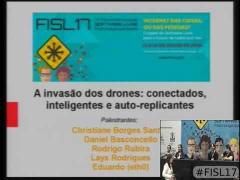 Painel A invasão dos drones conectados, inteligentes e auto replicantes