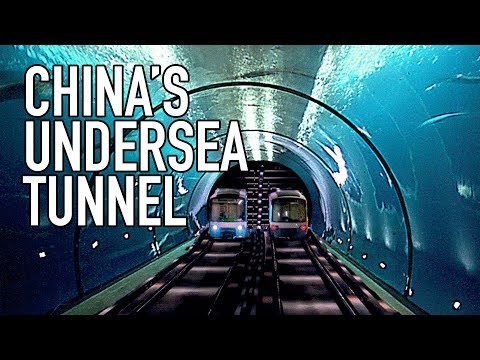Underwater Tunnel China Could Use to Invade Taiwan