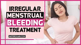 Promote Healthy Blood Flow with Irregular Menstrual Bleeding Treatment