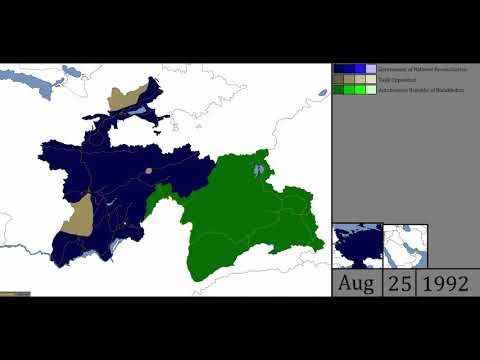 Tajik Civil War - Every Day (1992-98)