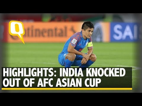 Highlights: India Lose 1-0 to Bahrain, Knocked Out of AFC Asian Cup | The Quint
