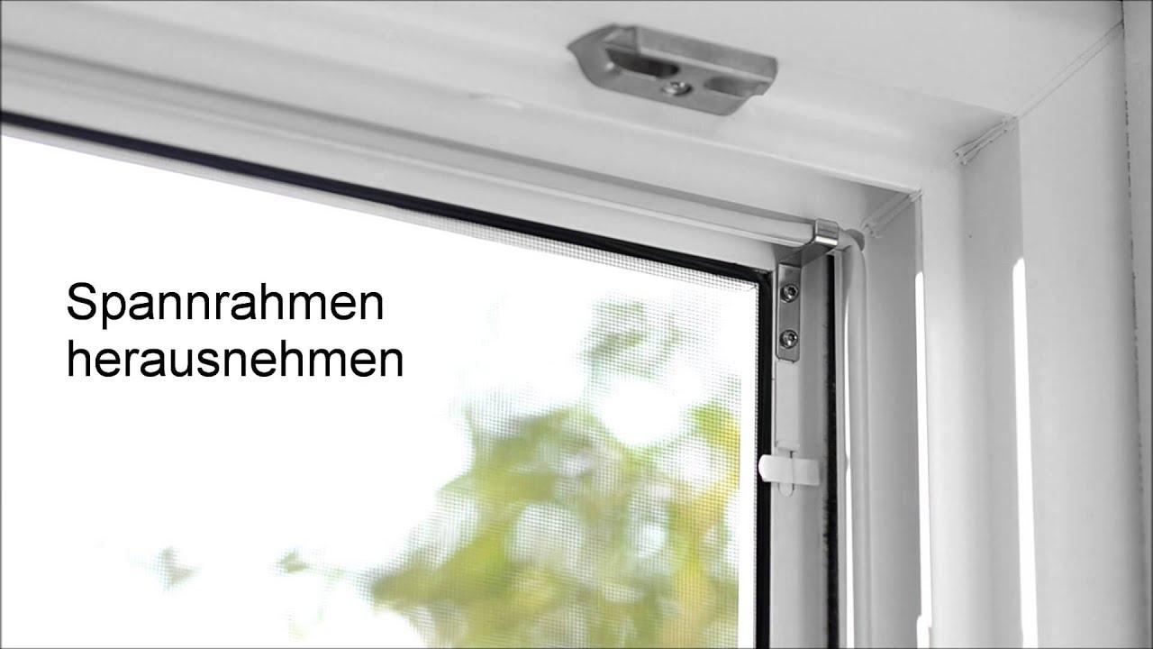 Fliegenschutzgitter Für Fenster : neher fliegenschutzgitter f r fenster bedienung youtube ~ Eleganceandgraceweddings.com Haus und Dekorationen