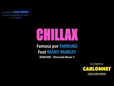 Chillax - Farruko Feat Ky Mani Marley (Karaoke)