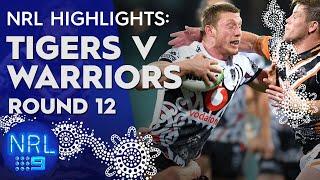 NRL Highlights: Wests Tigers v Warriors: Round 12 | NRL on Nine