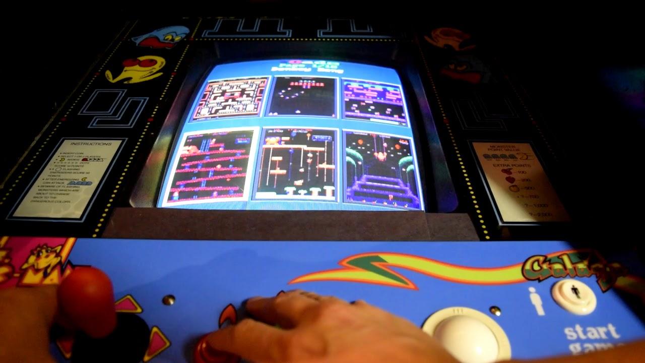 60 in 1 iCade Multicade Arcade Multigame JAMMA Review