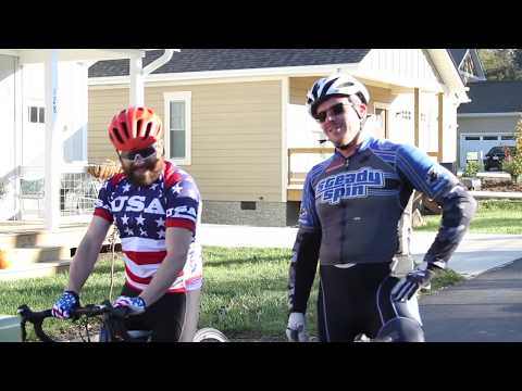 Road Biking With a MTB YouTuber