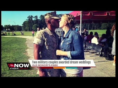 Florida Marine stationed in Iraq gets $25K wedding surprise from Old McMicky's Farm
