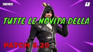 🔴 FORTNITE ALL THE NEW PATCH 8.20!