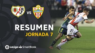 Resumen de Rayo Vallecano vs UD Almería (1-1)