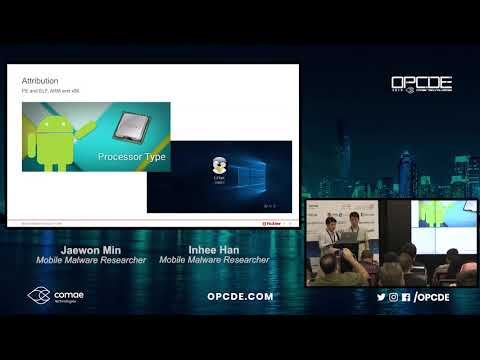 OPCDE2018 Dubai - DPRK's eyes on mobile: Spying on North Korean Defectors - Inhee Han & Jaewon Min