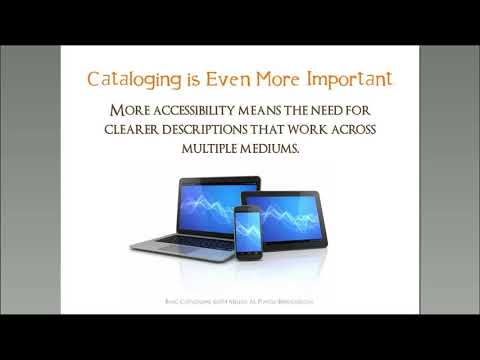 Cataloging Basics