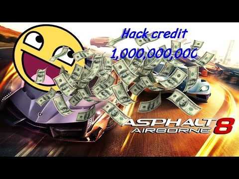 "Asphalt 8 Hack 2017  ""1,000,000,000"" with Cheat Engine 6.6"