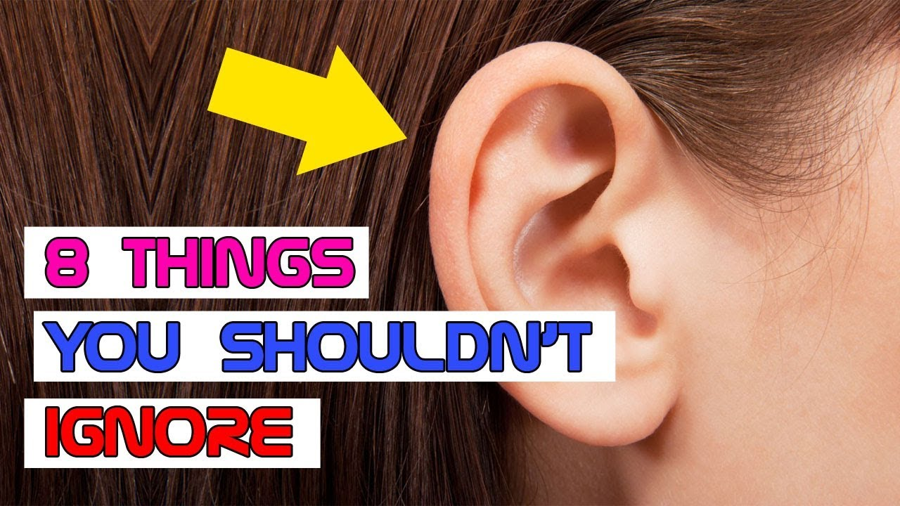 Your Ears Can Indicate Your Health and These 8 Things You Shouldn't Ignore