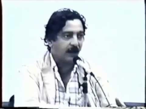 Chico Mendes em Palestra no Departamento de Geografia da USP em Maio de 1988 (Parte 1/5)