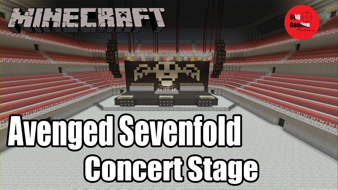 minecraft concert arena map download