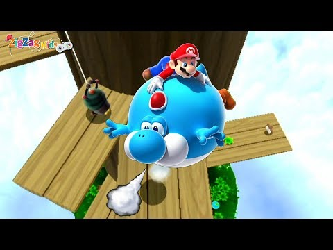 Super Mario Galaxy 2 | Tall Trunk Galaxy | Episode 14 | ZigZag Kids HD