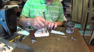 Пряжки, резинки замена. Видео уроки по ремонту обуви.(, 2014-07-17T15:25:27.000Z)