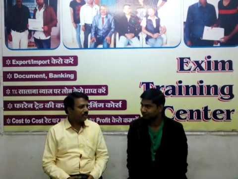 Export Import Training Mr Moh  Aazam Delhi  Review
