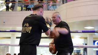 Download Video POWER! GLENN FOOT SMASHES PADS AHEAD OF BRITISH & COMMONWEALTH TITLE FIGHT AGAINST ROBBIE DAVIES JR. MP3 3GP MP4