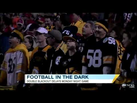 Candlestick Park Power Outage Causes Blackout During 'Monday Night Football'