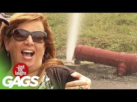 Fire Hydrant Accident - Just For Laughs Gags