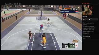 Streaking with my 2k20 build 300 sub grind