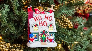 Keepsake Ornament Giveaway - Merriest House in Town - Home & Family