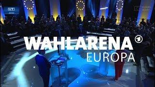 Europa wählt: WAHLARENA mit den Spitzenkandidaten Timmermans und Weber