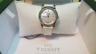 TISSOT Classic Dream Mother of Pearl Dial Ladies Watch - женские классические часы. Подробный обзор.